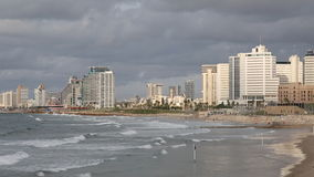 View of Tel Aviv and the Mediterranean coast