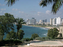 View of the Tel Aviv Royalty Free Stock Photo