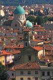 View of Tempio Maggiore Israelitico di Firenze Stock Photography