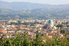 View at the Tempio Maggiore Israelitico, Florence Royalty Free Stock Photography