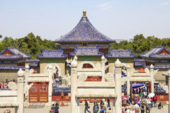 View of Temple of Heaven Stock Photography
