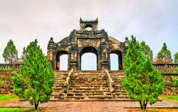 The Temple of Literature in Hue, Vietnam. VIew of the Temple of Literature in Hue, Vietnam stock photography