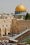 A view of the Temple Mount in Jerusalem Royalty Free Stock Photography