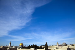 Dome of the Rock & Al-Aqsa Royalty Free Stock Image