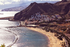 View of Tenerife Beach Royalty Free Stock Photo