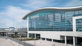 View of Terminal 2 at Incheon International Airport ICN, the largest airport in South Korea.
