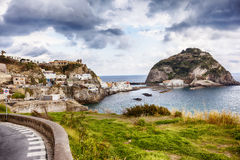 View from terrace , Ischia island Royalty Free Stock Photography