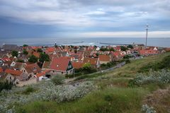 View on Terschelling, Netherlands Stock Photo