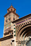 View of Teruel Cathedral Royalty Free Stock Photography