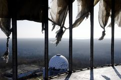 View Teufelsberg listening station Royalty Free Stock Photos