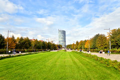 View of 300th anniversary park in St.Petersburg. Stock Photography
