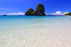 View of Thai sea, south of Thailand Royalty Free Stock Photo