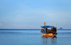 View of Thai sea, south of Thailand Stock Photography