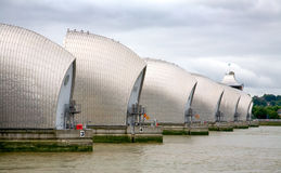 View of the Thames Barrier, London Stock Photography