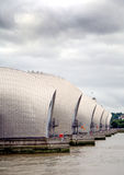 View of the Thames Barrier, London Stock Photo