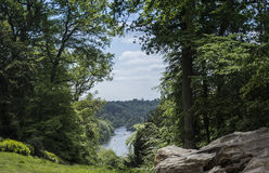View of Thames from Clivedon Stock Photos