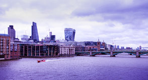 View of Thames Stock Photography