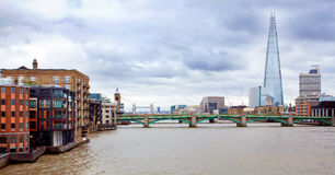 View of Thames Stock Image