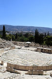 View of Theater of Dionysus Stock Photo