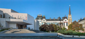View Of the Theater Of Novi Sad Royalty Free Stock Photo