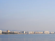 View on Thessaloniki Greece Stock Image