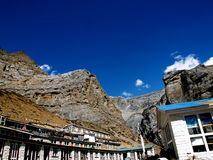 View from Thorong Fedi Royalty Free Stock Photos