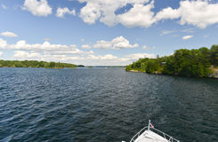 View of the Thousand Islands Stock Images