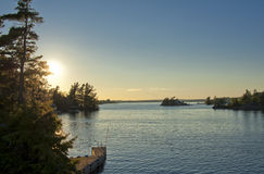 A view at Thousand Islands Royalty Free Stock Image