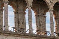 View through three arches Royalty Free Stock Images