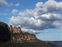 View of the three sisters Stock Photography