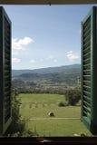 View Through A Window Stock Photos