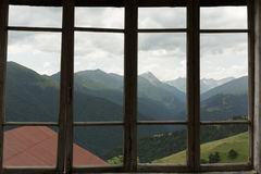 Free View Through A Window Stock Photography - 98260272