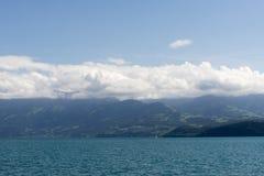 View of Thun Lake stock image