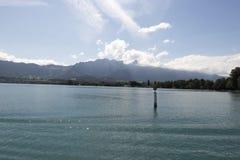 View of Thun lake royalty free stock images
