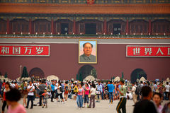 View of Tiananmen Square, China Royalty Free Stock Photo