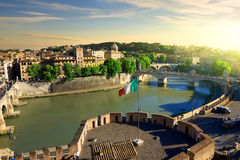 View on Tiber Stock Photography