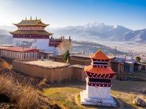 View of tibetan monastery in Dege