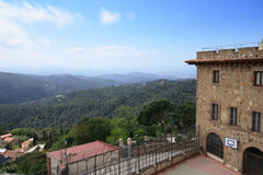 View from Tibidabo mountain Stock Photo