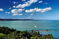 View from Tihany 2 royalty free stock photos
