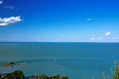 View from Tihany 4 royalty free stock photos