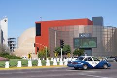 View of the Tijuana Cultural Center. Tijuana Cultural Center in Zona Rio in the city of Tijuana in Mexico Stock Images