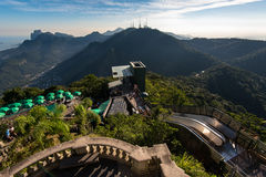 View of Tijuca Forest From the Corcovado Mountan Royalty Free Stock Images
