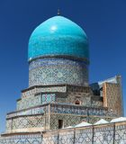 View from Tilla-Kari medressa - Registan - Samarkand Royalty Free Stock Photo