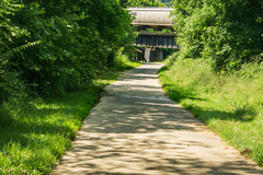 A View of the Tinker Creek Greenway. Roanoke, VA – June 11th: A view of the Tinker Creek Greenway on a beautiful summer's day located in Roanoke, Virginia Stock Images