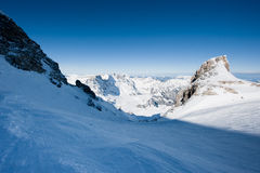 View from Titlis Royalty Free Stock Photos