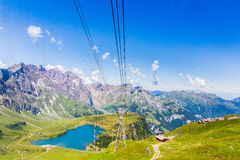 View of Titlis mountain Royalty Free Stock Image