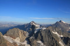 View from the Titlis, Swiss Alps Royalty Free Stock Images