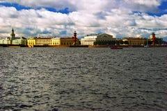 View on tne Neva river Royalty Free Stock Photo
