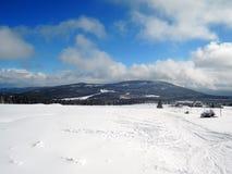 View to Černá hora. Krkonoše Stock Images