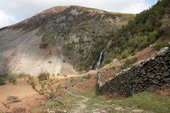 View To Aber falls Royalty Free Stock Photo